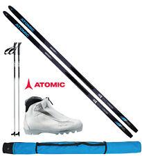 Atomic Damen Langlaufset L=183cm + Bindung + Schuhe women + Stöcke + Skisack