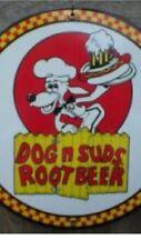 """DOG & SUDS PORCELAIN Sign 12"""""""
