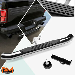 """37""""x3.25"""" Pedal Class III 2""""Receiver Stainless Steel Trailer Hitch Rear Step Bar"""