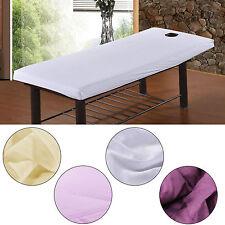 Massage Beauté Imperméable Table Couverture Feuilles + Visage Souffle Trou