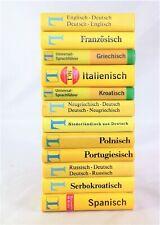 ?  12x Langenscheidt Wörterbücher Sprachführer Reise Paket Sammlung Konvolut