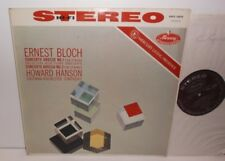 AMS 16098 Bloch Concerto Grosso Nos.1&2 Eastman-Rochester Orch Hanson HP TAS P/S