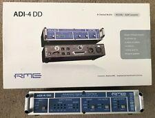 RME ADI-4 DD 8-channel AES/ADAT Format Converter-Utilisée-En très bon état
