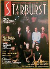 Starburst Vol.10 No.2 #110 Star Trek The Next Generation Oct1987 Great Condition