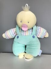 Eden Duck Plush Pull String  Baby Crib Toy Musical It's A Small World