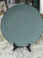 "Franciscan China - ""Dawn"" - Gladding McBean -  Dinner Plates - Mid Century AQUA"