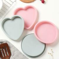 """6"""" Cake Mold Silicone Round Mousse Bread Muffin Pan Mould Trays Bakeware Y7B7"""