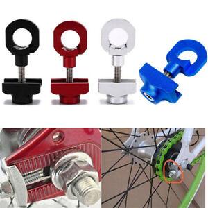 2PCS Bicycle Bike Chain Tensioner Tug Adjust Fixie Fixed Gear Track BMX Fastener