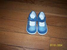 Primigi  Girls Sz 20  Mary Jane Shoes Toddler Little Kids 2 tone blue glitter