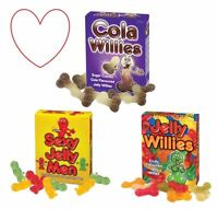 Jelly willies fruity cola novelty sweeties rude gifts sweets secret santa
