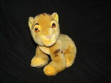 "Disney Store The Lion King Simba Cub Baby Plush 8"" Vintage"