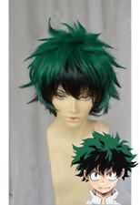 Boku no Hero Academia Midoriya Izuku Cosplay wig Short Mixed Green Cos Hair Wig