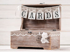 Wedding Reception Gift Card Box, Wedding Card Box, Wedding Wishing Well
