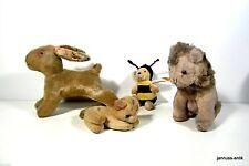Antike originale Steiff Stofftiere & Teddybären gefertigt 1945-1970