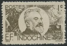 INDOCHINE  N°250**  Jean-Marie de Lannessan, 1944, French Indo China MNH NGAI