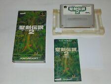 Super Famicom: Secret of Mana 2 Seiken Densetsu 2