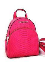 MICHAEL KORS  Back-Pack Neu Abbey fuschia pink Tasche Bag Handtasche Rucksack