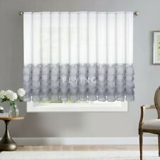 Amazing Stunning Voile Net Curtain Ready Made To Hang   /Voiles/Firany/FiraNKI!!