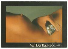 CPM - Carte postale  publicité campagne van der bauwede - Ed NUGERON - PUB 26