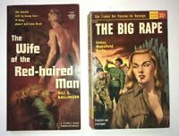 Lot 3  PULP FICTION LURID DIGEST Multiple GROUP VINTAGE TRASHY POPULAR GIANT