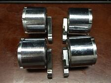 (one) Clerke 1st First Crome Plated Cylinder & Crane 5 Shot Revolver Part .32Cal