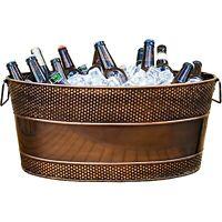 Big Hammered Beverage Tub - Copper *B-Grade*