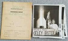 1940s STANFORD UNVERSITY Big GAME Fraternity Float Photos - ROCKET Pretty Girls!