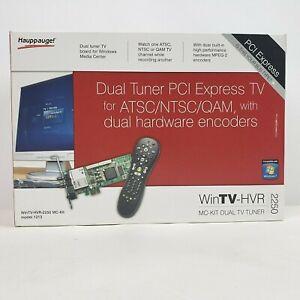 Hauppauge! WinTV-HVR 2250 MC-Kit Dual TV Tuner Model 1213