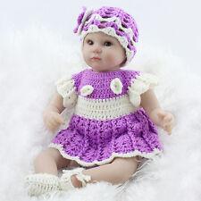 22'' Handmade Lifelike Baby Girl Doll Silicone Reborn Newborn Doll Wedding Gifts