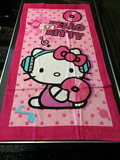 HANDTUCH KIND HELLO KITTY 70 CM X 140 CM