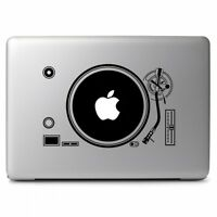DJ Record Player Console Vinyl Sticker Decal for Macbook Air Pro 11 13 15 17''