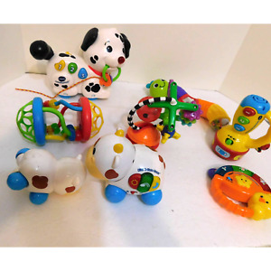 V Tech Children's Assorted Toy Rattle Lot
