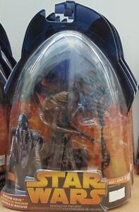 "Star Wars Revenge of the Sith (056) Mustafar Sentry 3.75"" Figure CDN Card"
