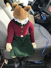 "HANFORD'S FOXHUNTING FOX-PLUSH-STUFFED ANIMAL-DISPLAY-COLLECTIBLE- 20"" SITTING"