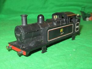 """Triang OO gauge early R52 0-6-0 """"Jinty"""" tank loco body only"""