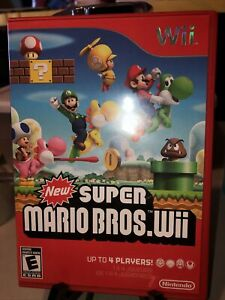 New Super Mario Bros. Wii used