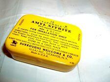 vintage empty Vaporole Amyl Nitrite 12 Capsules tin