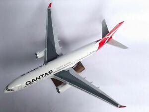 Qantas Large Plane Model Boeing Jet ✈ A330  1:160 Airplane Apx 45Cm