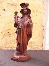 Altöttinger Muttergottes Madonna Holz geschnitzt wohl 18./ 19.Jh barock