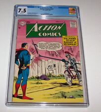 Action Comics #231 - CGC VF- 7.5 - 1957 DC Silver Age Issue - Jimmy Olsen cover