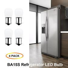 4X AC/DC12V BA15S Vanity Light Bulb 1156 1141 LED Light Bulb RV Camper Lighting
