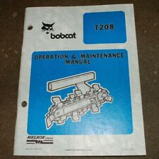 Burkeen T208 Walk Behind Trencher Owner Operation maintenance operator Manual
