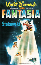 "Walt Disney Fantasia Movie Poster Replica 13x19"" Photo Print"