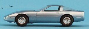 AMT 1:25 1:24 1985 Corvette Light Blue Built Model #5-8573