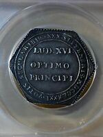 1781 France Strasbourg Centennial Silver Medal Graded AU50 by ANACS!!!