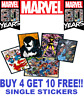 Marvel 80 Years Anniversary Sticker Collection Single Stickers BUY 4 GET 10 FREE