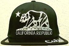 CA CALI CALIFORNIA REPUBLIC FLAG BEAR CAP HAT ANTI UV BLOCK VISOR SNAPBACK SWAG