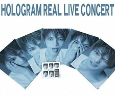 [SALE] KIM JAEJOONG CLEAR FILE 5EA JAPAN HOLOGRAM CONCERT OFFICIAL GOODS