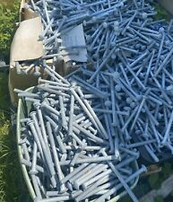 50 5/8-11X 10 CARRIAGE BOLTS HOT DIPPED GALVANIZED