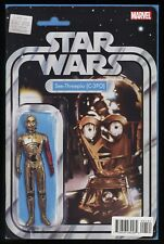 Star Wars Special C-3PO Variant Comic Action Figure Force Awakens Red Arm Cover